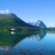 Ferries' Cross. Beautiful Nature Norway