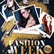 Fashion Week Party Flyer