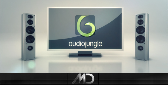 VideoHive TV Speakers Logo Intro 1906199