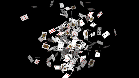 VideoHive Throwing Poker 19413399