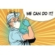 We Can Do It Profession Doctor