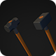 Low Poly Sledgehammer Pack