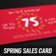 Spring Sales Card 2