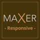 MAXER - Creative Multi-Purpose Muse Template