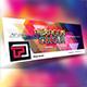 Hexagon Colour Facebook Cover Template