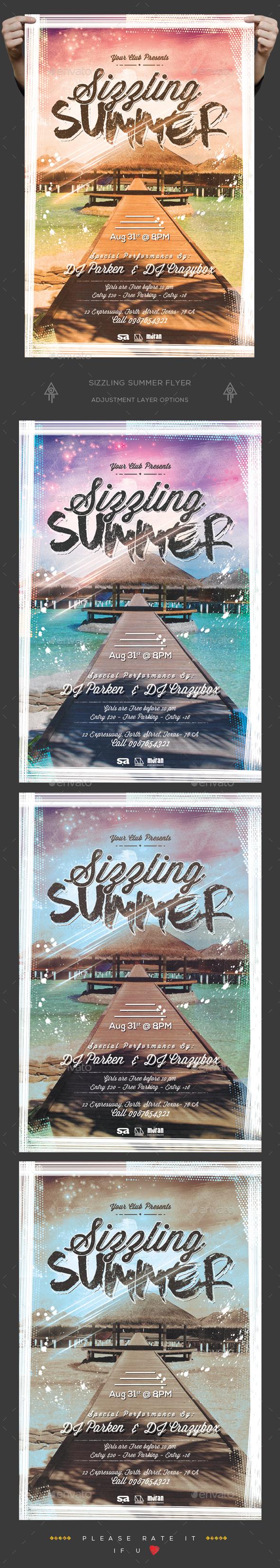 Sizzling Summer Flyer