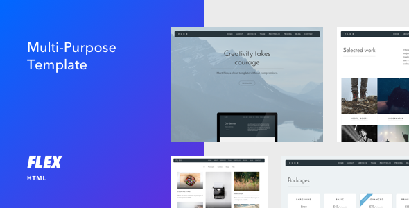 Flex - Multi-purpose HTML Template