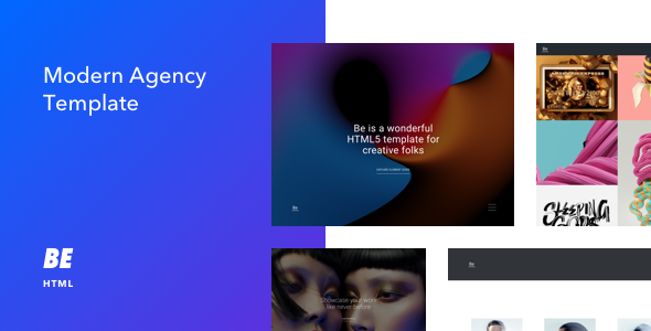 Be - Responsive HTML5 Agency Template