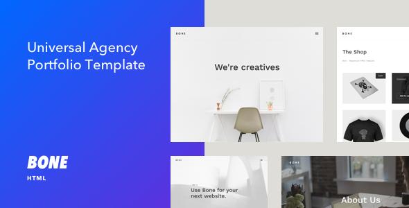 Bone - Responsive Agency Portfolio HTML Template