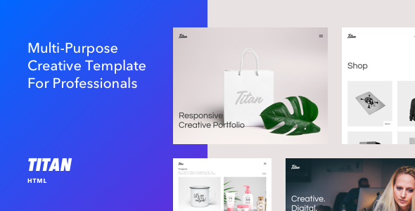 Titan - Creative HTML5 Template