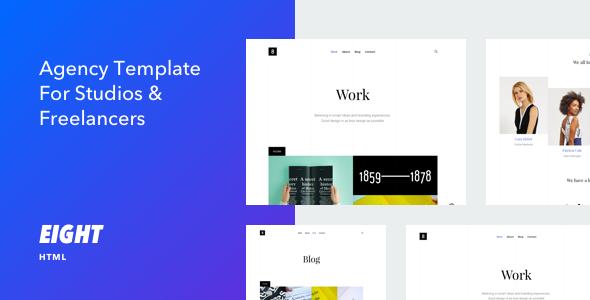 Eight - Responsive Portfolio HTML5 Template
