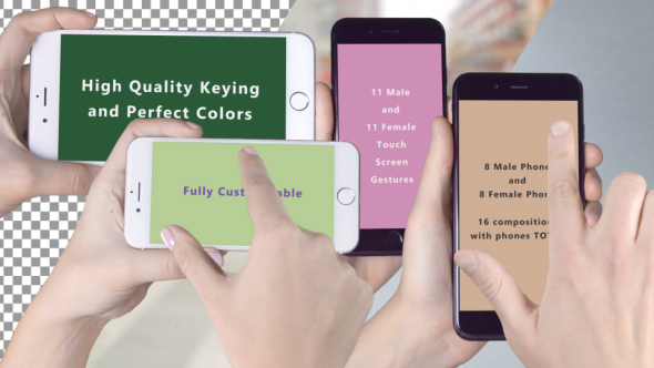 VideoHive Phone 7 Application Promo with Gestures 19369322