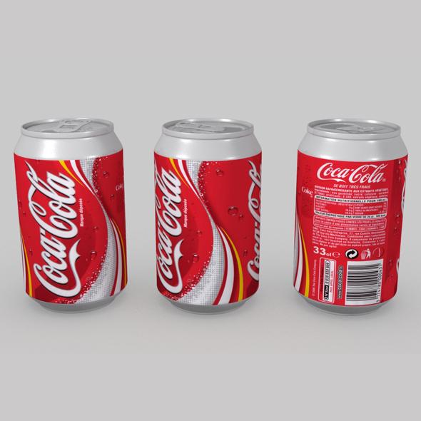 3DOcean Coca Cola Can 02 19417117
