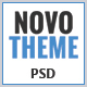 NOVOTHEME - One Page Multipurpose PSD Template