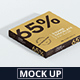 Chocolate Packaging Mockup Square Size