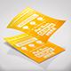 Paper Mock-Ups | A4 Portrait Paper | Business Cards | A4 Tri-Fold Leaflet