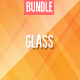 Glass Backgrounds Bundle
