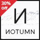 Notumn - Responsive Modern Minimalistic Blog