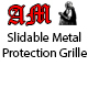 Slidable Metal Protection Grille