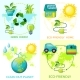 Cartoon Ecology Concept