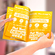 Paper Mock-Ups. Brochure | A5 Leaflet | Label