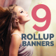 9 Roll-Up Banners Design