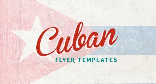 Cuban Flyer Templates