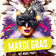 Mardi Gras Party Template