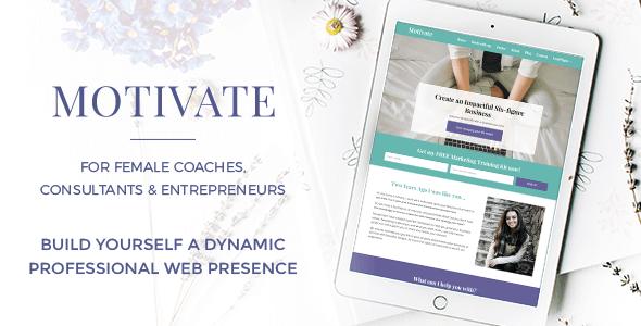Motivate – For Female Coaches, Consultants & Entrepreneurs (Personal) images