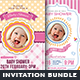 Baby Shower Flyer Bundle
