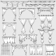 Curtains Window Shades and Drapery Icons