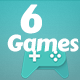 Best 6 Games Bundle-4 HTML5 Mobile Games(capx)