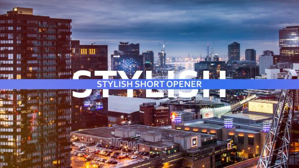 VideoHive Stylish Short Opener 19422185