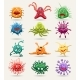 Cell Disease Vector Icons