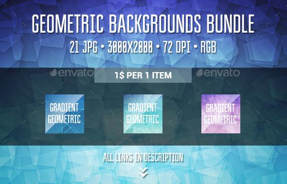 Geometric Backgrounds Bundle