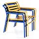 Straw Modern Armchair Lounge