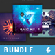 Trance Music CD Cover Artwork Templates Bundle