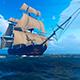 Sailing Ship In An Ocean