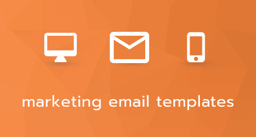 Responsive Marketing Email HTML Templates