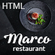 Marco - Modern & Unique Restaurant Template