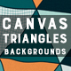 Canvas Triangles | Backgrounds