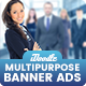 Multipurpose Banners Ads