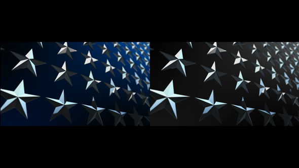 VideoHive Army Star Wall 19424809