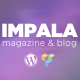 Impala - Colorful WordPress theme for Magazine and Blog