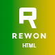 REWON - Multipurpose HTML Template