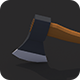 Low Poly Axe v.1