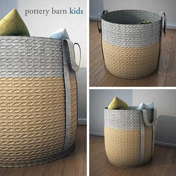 3DOcean PoterryBarn-Basket 19425551