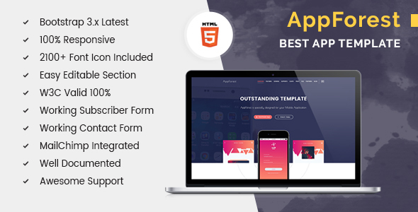 AppForest Apps Landing Page
