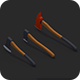 Low Poly Axe Pack