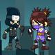 NinjaTwins Adventure - iOS - Buildbox 2 file - iAP - Admob - Share feature